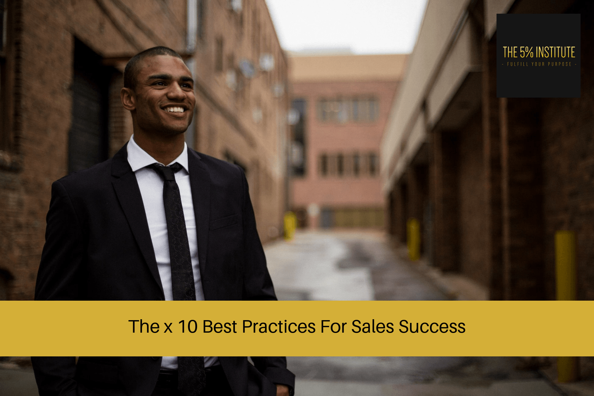 best sales practices