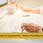 leads vs opportunities