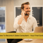 how to become a sales consultant