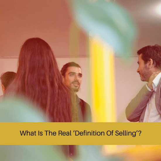 definition of selling