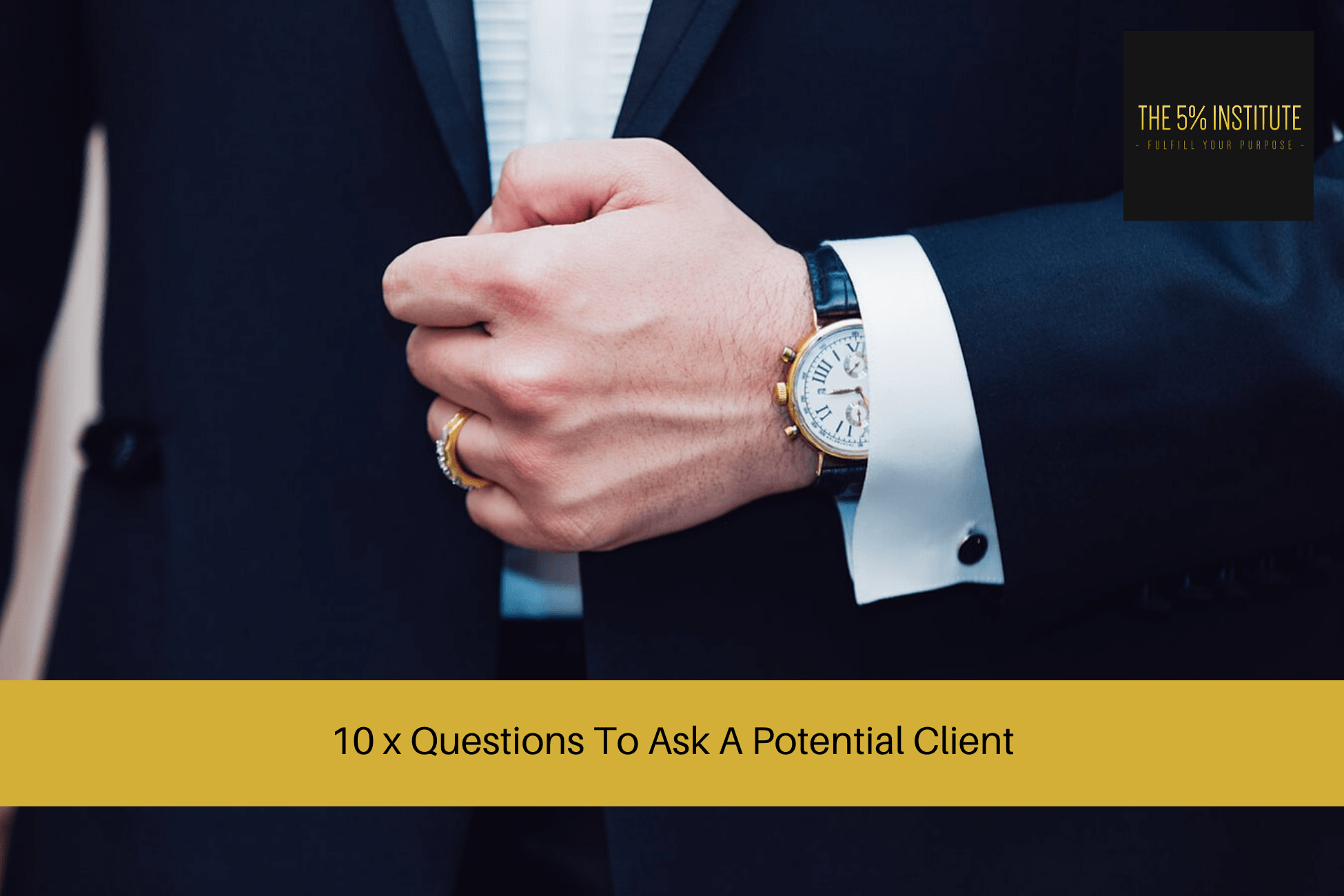 questions to ask a potential client
