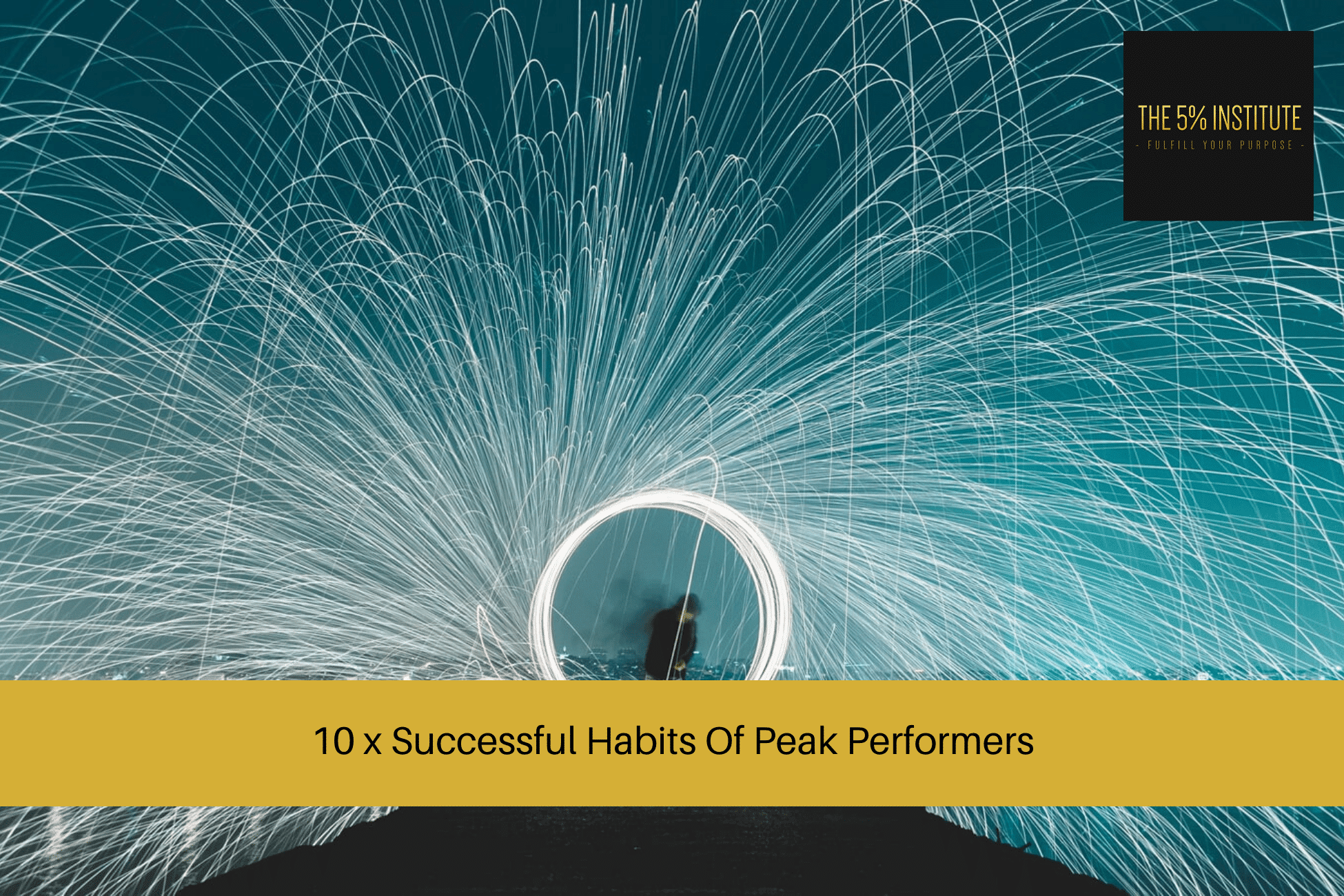 habits of peak performers