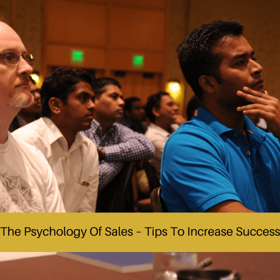 psychology of sales