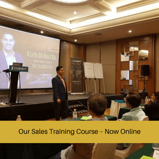 online sales training course