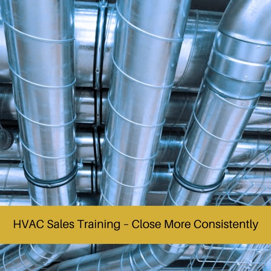 hvac sales training