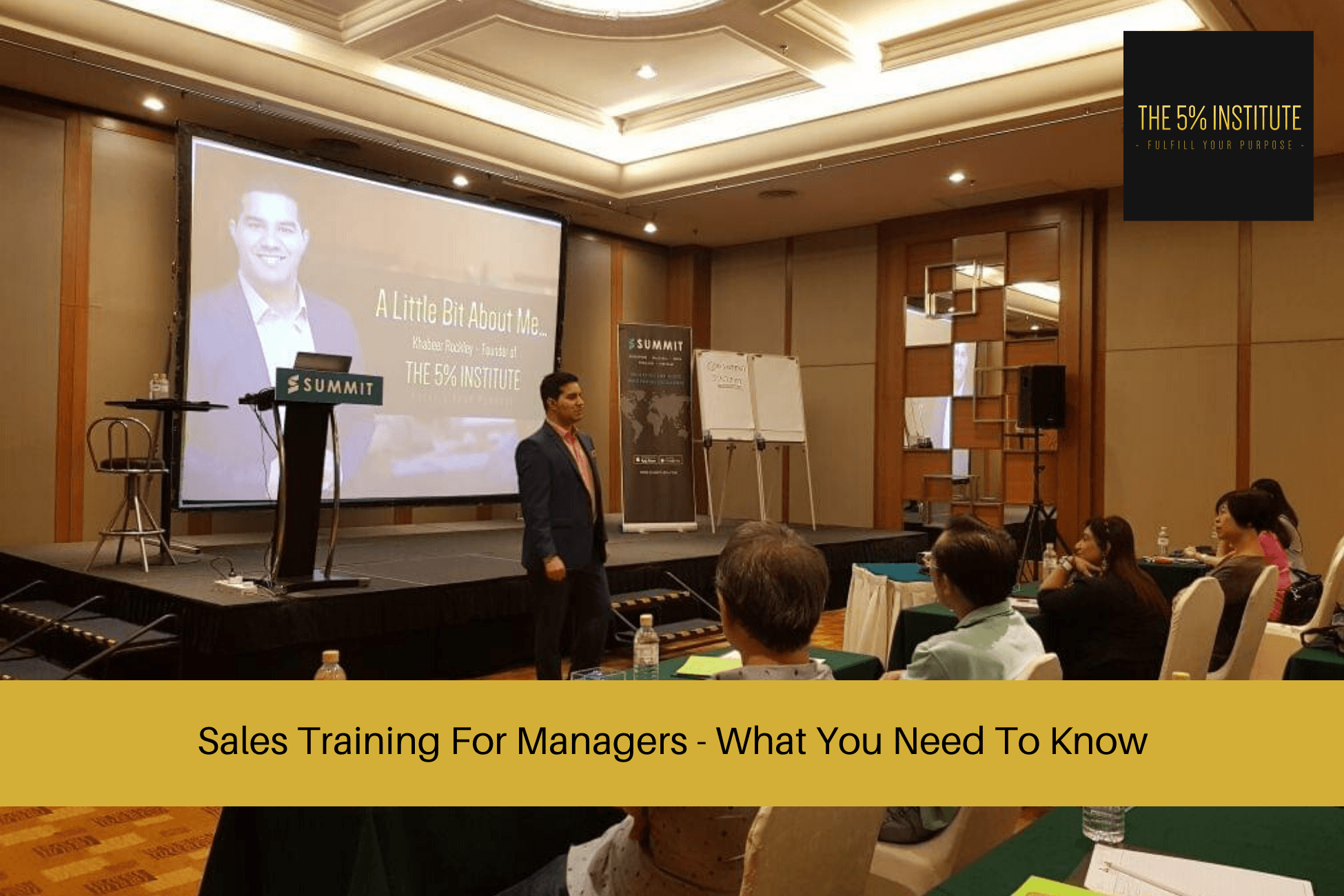 sales training for managers