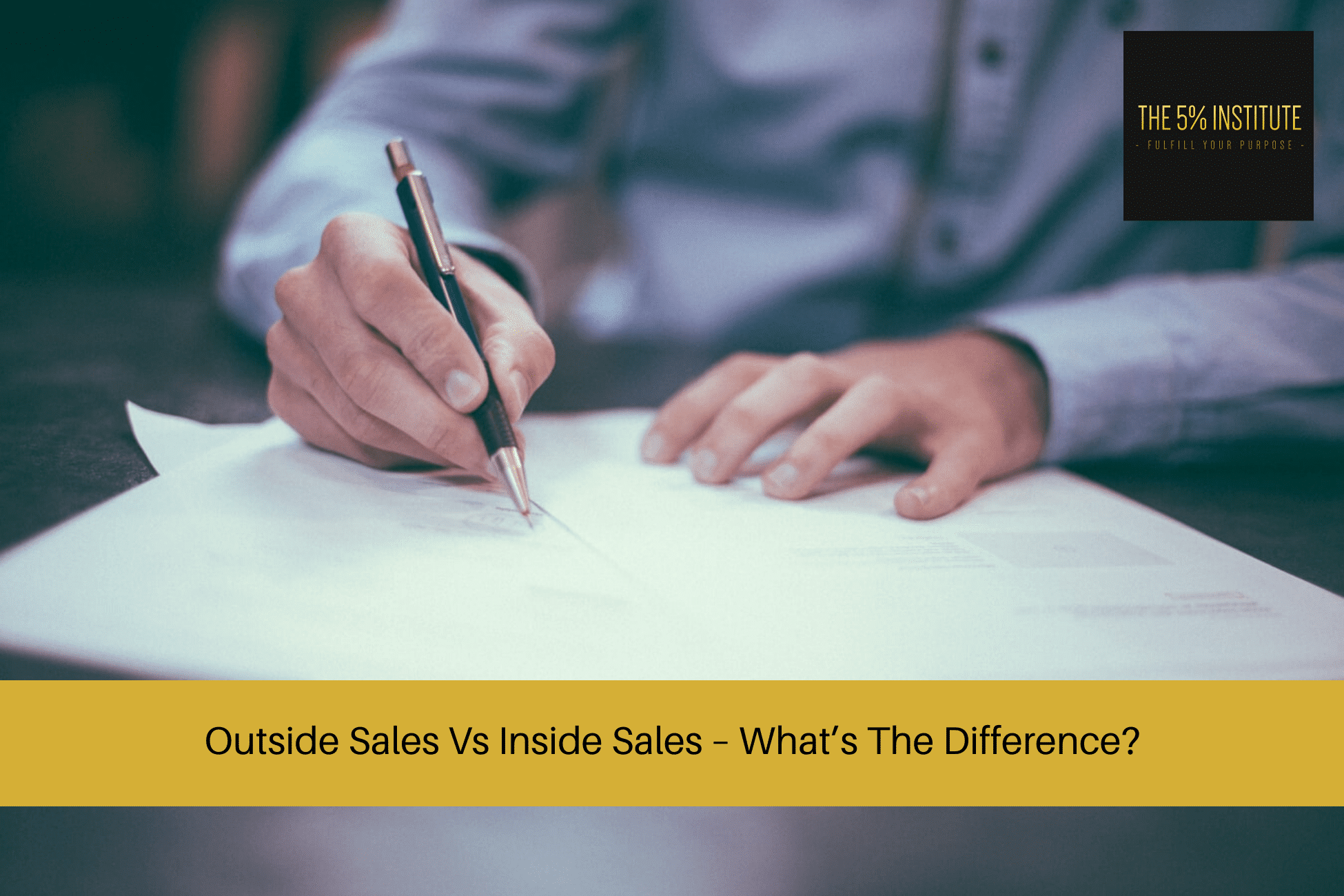 Outside Sales Vs Inside Sales