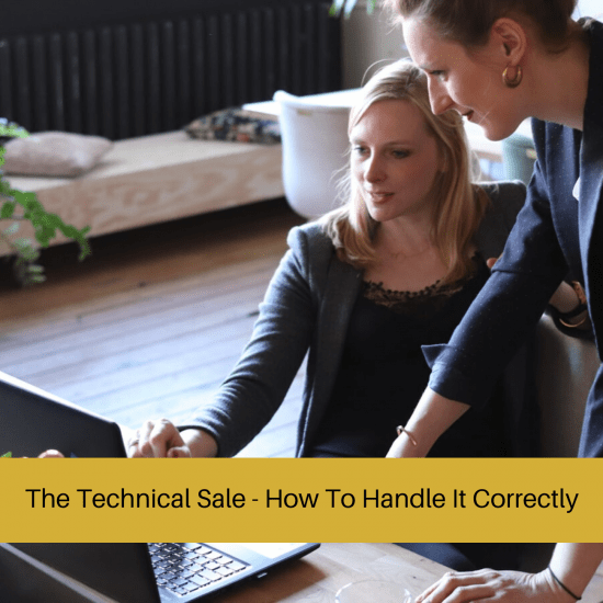 technical sale ; technical sales