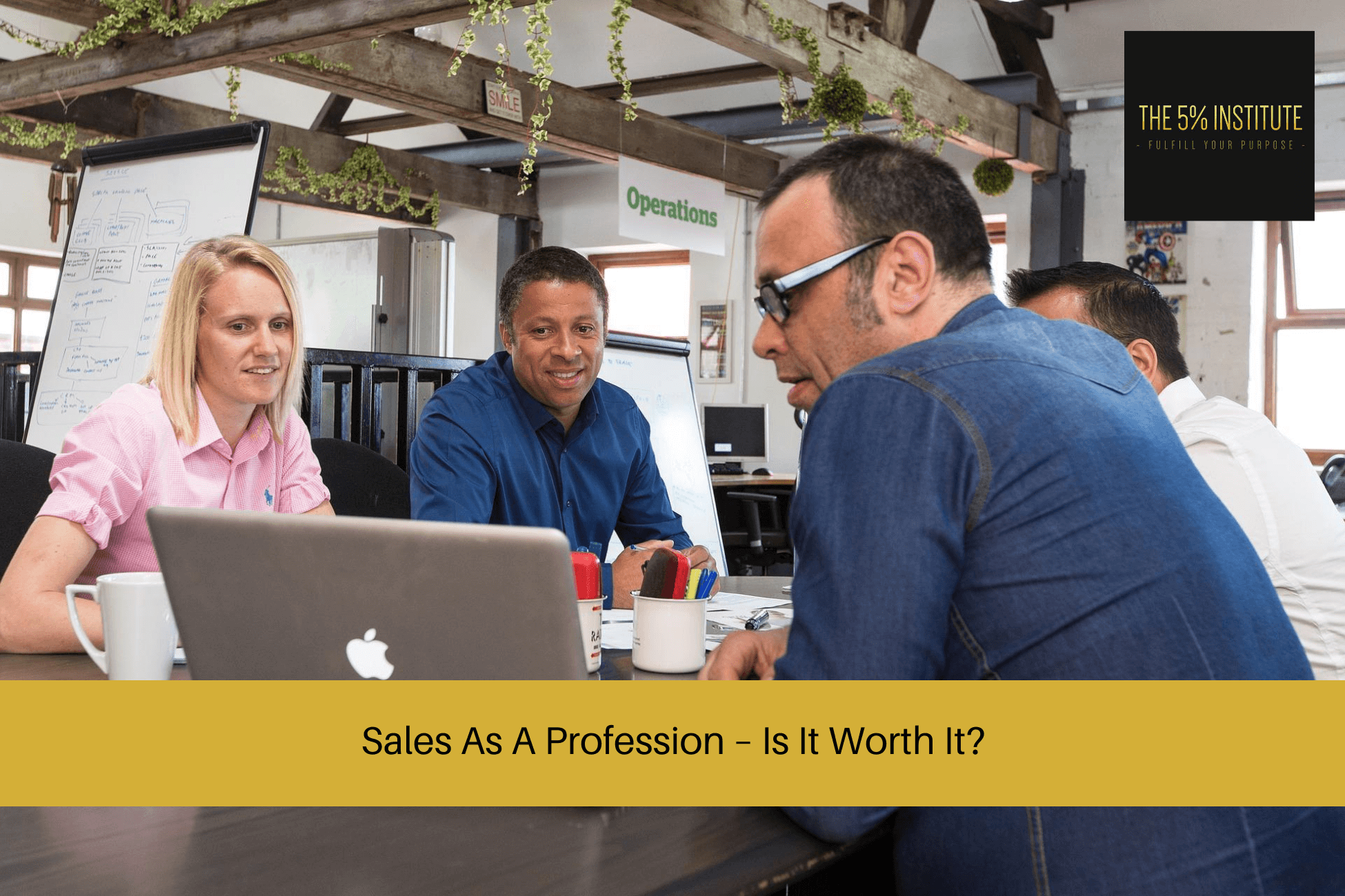 sales as a profession ; sales professional