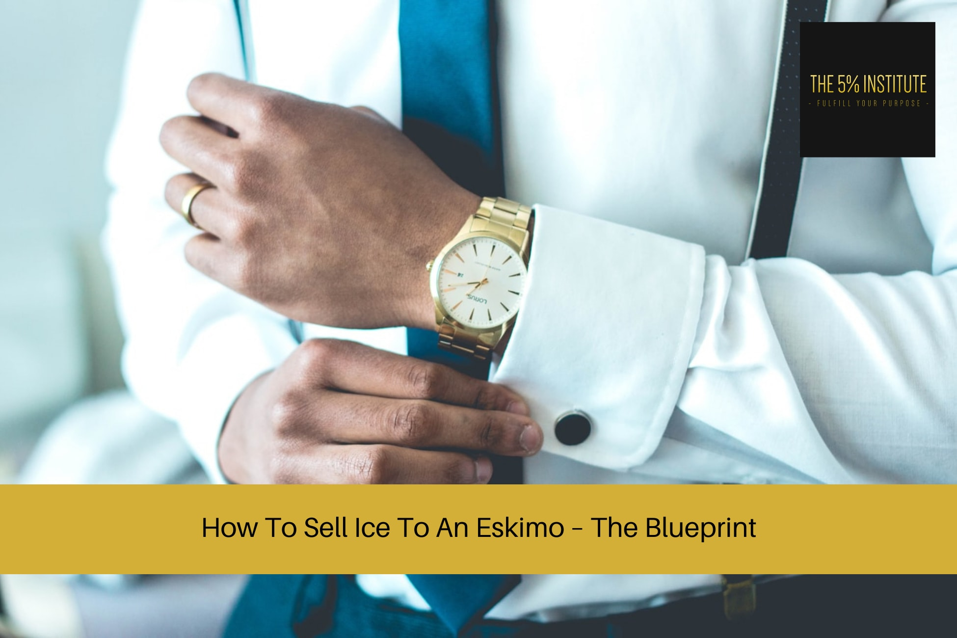 how to sell ice to an eskimo meaning