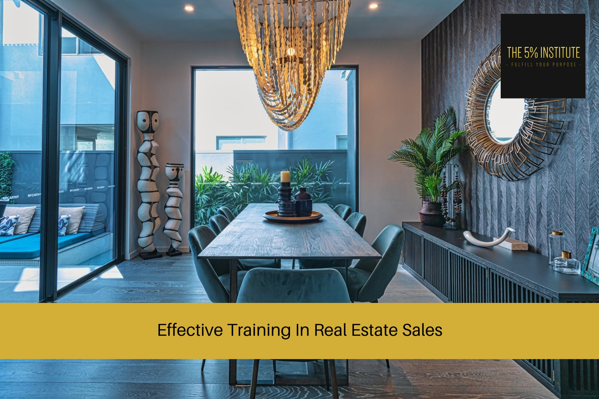 training in real estate sales
