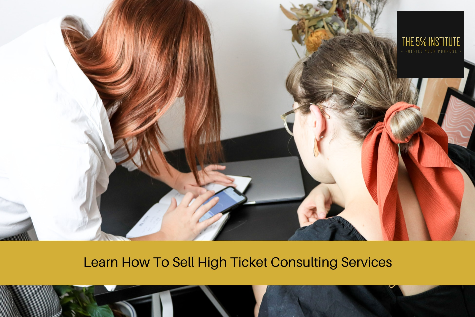 how to sell high ticket consulting services