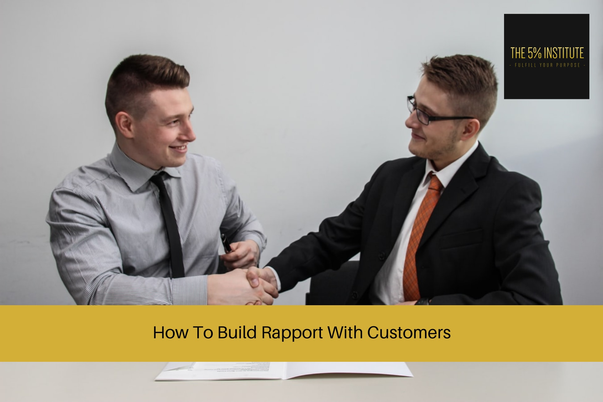 How To Build Rapport With Customers