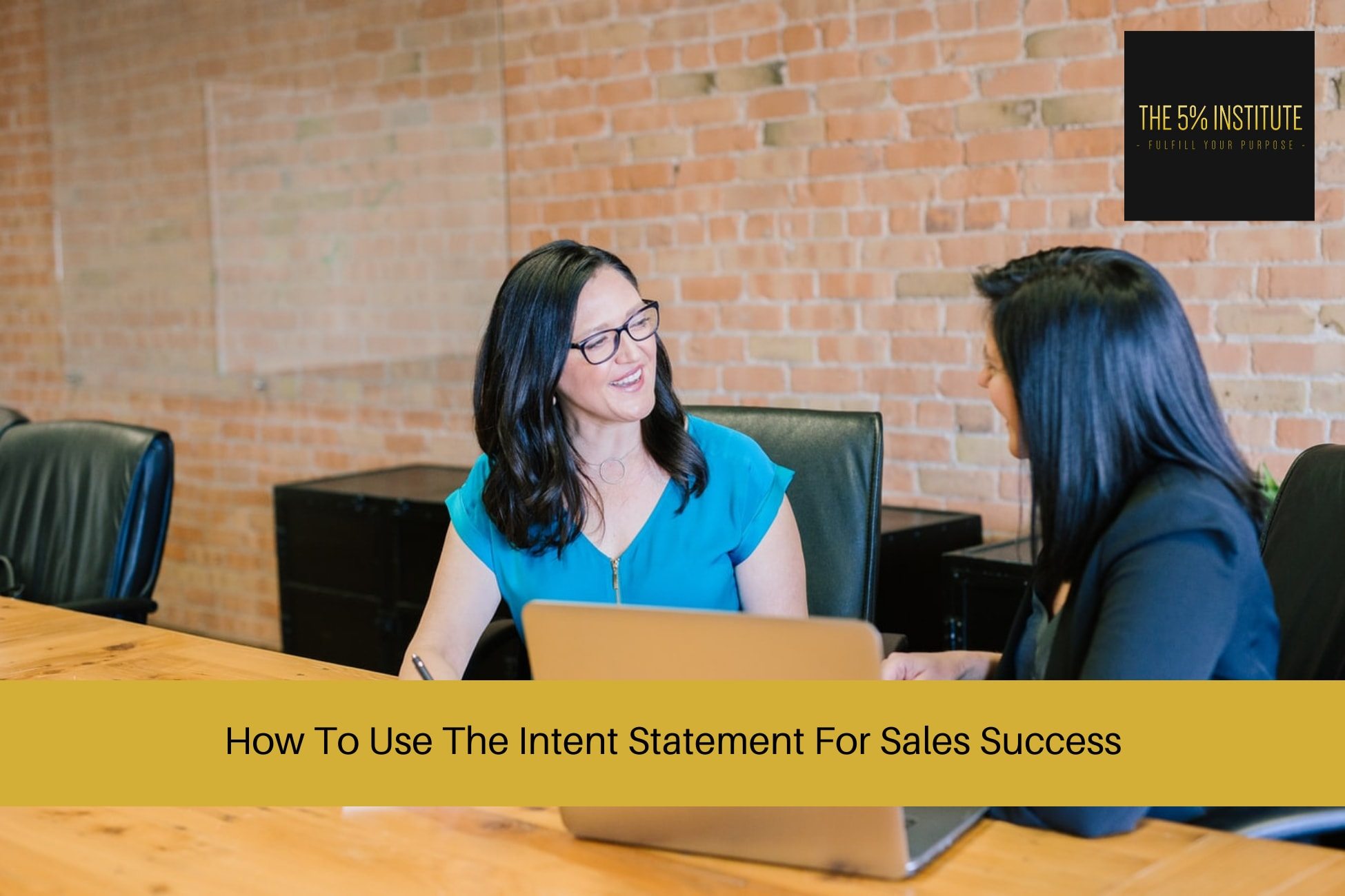 intent statement sales