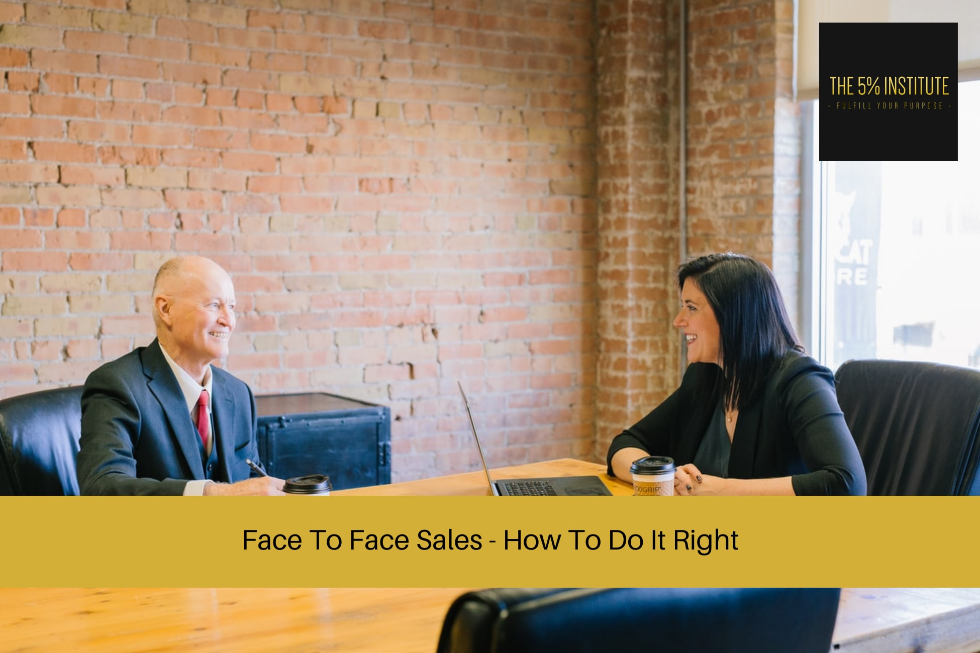 face to face sales