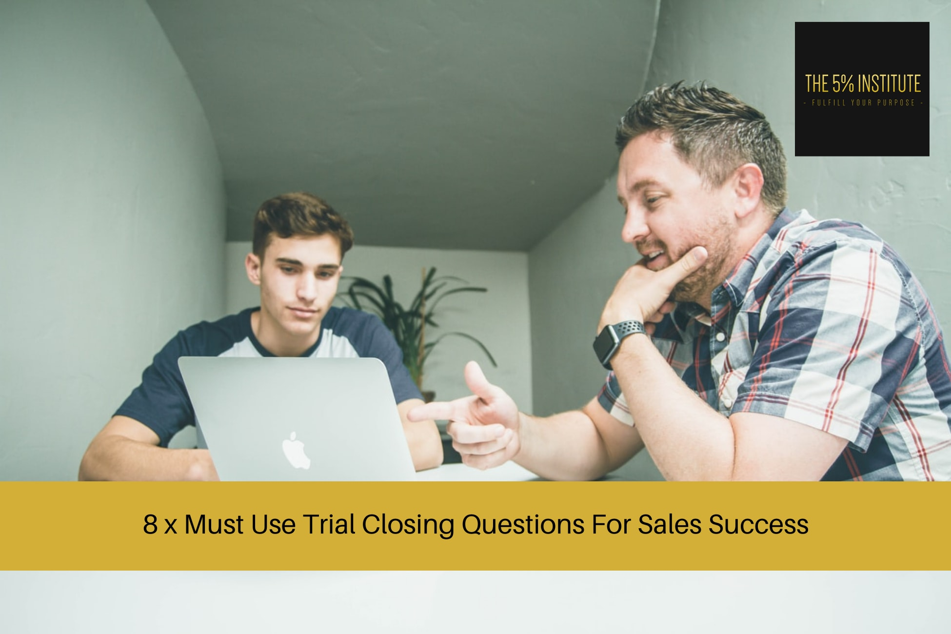 trial closing questions sales